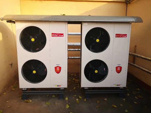 探索空气源热泵等供暖形式,华天成积极推进威海散煤清洁化治理