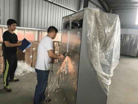 氟利昂经常被作为冰箱保温层发泡材料。湖州市生态环境局供图