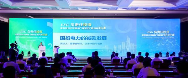 国投电力控股股份有限公司董事会秘书、总法律顾问杨林
