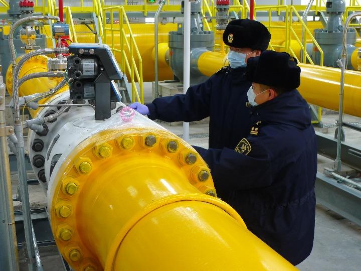 中俄东线天然气管道累计输气8.4亿立方米